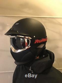 Casque De Ski / Snowboard Ruroc Rg1-x Noir + Lunettes, Petit