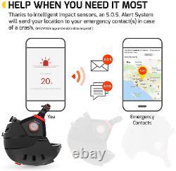 Casque De Snowboard Swagtron Snowtide Bluetooth Avec Alerte Audio Sos De Taille Moyenne