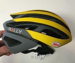 Casque De Vélo De Route Taille Moyenne M Pour Cycliste Mips Jaune Gris Jaune Bell Z20