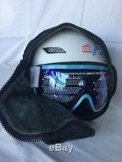 Casque Et Visière De Ski Bolle Ski Googles White L 58-61 Nouveauté Dans La Boîte 300 $