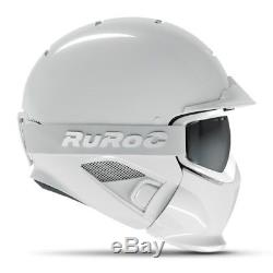 Casque Ruroc Rg1-dx Ghost (blanc) M / L