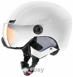Casque Uvex 400 Visor Style Blanc Mat 53-58cm