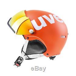 Casque Uvex 500 Visor Casque De Ski Mesdames Hommes 52-55 CM