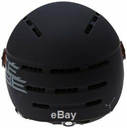 Cb Casques De Ski Fireball Helmet, Noir Noir, 53-58 CM