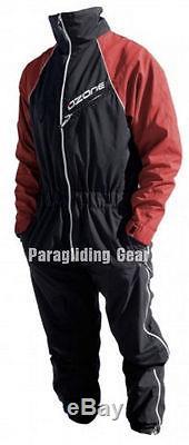 Combinaison De Vol Ozone Rouge Pour Parapente Parapente Ppg Paramoteur Pilotes Tailles M