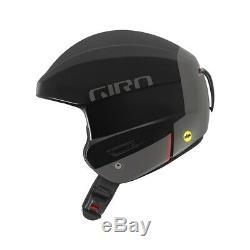 Giro Efforcez Mips Ski Racing Casque Noir Mat, Taille Moyenne (55.5-57cm)