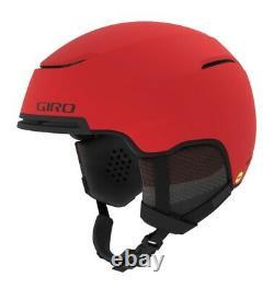 Giro Jackson Mips Casque De Ski Casque De Snowboard Mat Rouge Brillant Noir