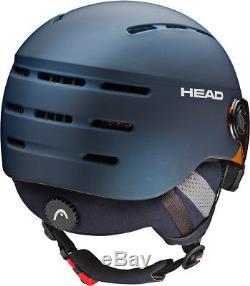 Head Knight Pro Helm 2018 Bleu Nuit Ski Snowboard