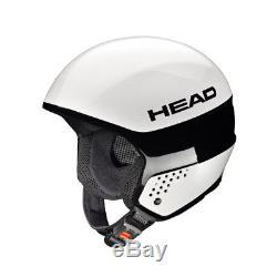 Head Unisexe Skihelm Snowboard Helm Casque Rennhelm Stivot Race Carbon Weiss