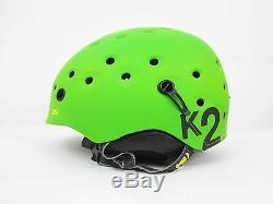K2 Route De Ski Et De Plein Air Casque - Couleur Vert - Taille Grande - Neuf