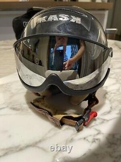 Kask Piuma Top Of The Line Ski /snowboarding Helmet With Visor, Taille 58