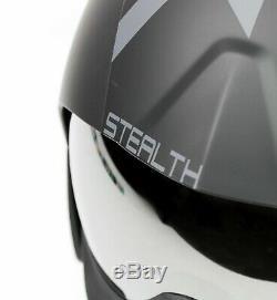 Kask Steath Black Matt Casque De Ski She00053.801 Taille 60 L