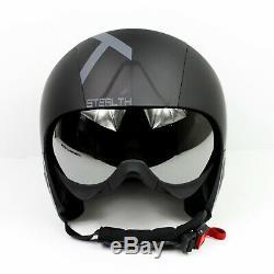 Kask Steath Noir Mat Casque De Ski She00053.801 Taille 60 L