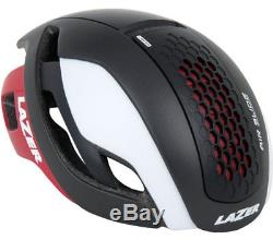 Lazer Rennrad Helm Bullet Noir Blanc Rouge S