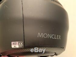 Moncler Ski Casque Avec Lunettes Intégrées. Supplémentaire New Lens, Audio Hookup