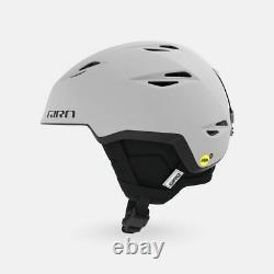 Nib Giro Grid Mips Medium Matte Light Grey Ski/snowboard Helmet Withbag