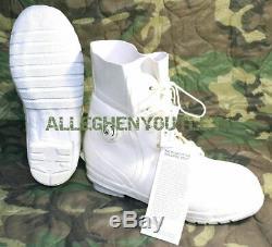Norcross Mickey Bunny Bottes -30 ° Ecw Usgi USA Blanchies De Nombreuses Tailles Nouveau
