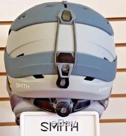 Nouveau 2019 Casque D'hiver Smith Quantum Mips Blanc Mat Charcoal Taille S 51 55 CM