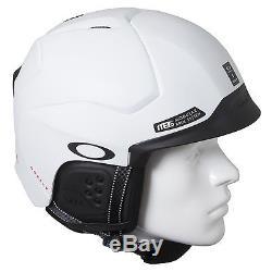Nouveau! Casque De Snowboard Oakley Mod 5 Ski Blanc Mat Grand 99430-11b L Nib