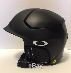 Nouveau! Grand Casque De Neige Oakley Mod5 Mips Noir Mat 99430mp-02k Nib
