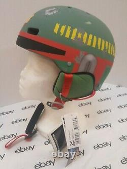 Nouveau Nwt Burton Anon Rime Boba Fett Sz M Snowboard Casque De Ski Star Wars Yoda
