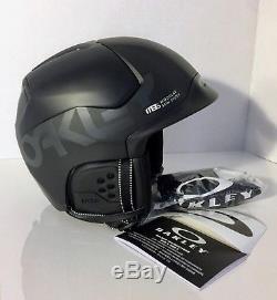 Nouveau! Oakley Matte Noir Mod5 Factory Pilot Casque De Neige Grand 99430fp-02k Nib