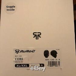 Nouveau! Ruroc Rg1-dx Core Fit Asiatique / XL Série 3 Super 73 Casque