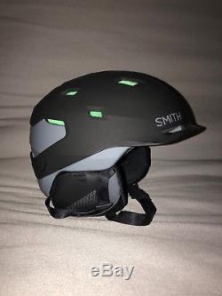 Nouveau Smith Quantum Mips Casque Ski / Snowboard Adulte Medium Noir Mat