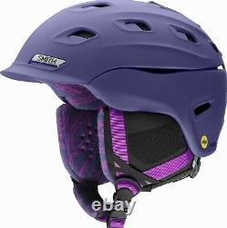 Nouveau Smith Womens Vantage Mips Ski Snowboard Helmet Large 59-63cm Lilas Poussiéreux