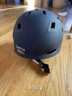 Nwot New Smith Quantum Mips Medium Ski Snowboard Helmet Matte Ink Vapor