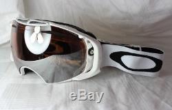 Oakley Airbrake Oo 7037-34 Blanc Iridium Noir + Persimmon Neu
