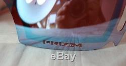 Oakley Airbrake Oo 7037-40 Noir Prizm Torch Irid + Prizm Saphir Irid Neu