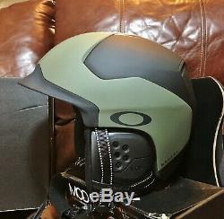 Oakley Mod 5 Boa Ski Adulte Casque De Protection, Small, Noir Brosse Vert 99430-86v Mod5