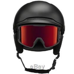Oakley Mod3 Casque De Neige Poli Noir Casco Fw 2018 S M L Nouveau Ski Snowboard