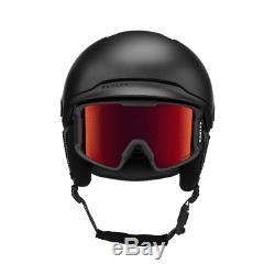 Oakley Mod3 Matte Black Casque Snowboard / Ski Nouveau 2018