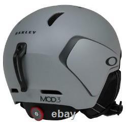 Oakley Mod3 Mips Snow Helmet Taille Adulte S Small Matte Grey Mens Ski Snowboard