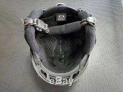 Oakley Mod5 Casque De Protection Ski Snowboard Noir Brosse 99430-86v Taille M