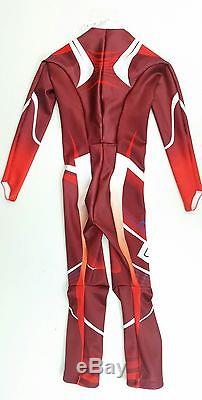 Phenix Norway Alpine Team Maillot De Course De Ski Junior Junior 170 (xl) Rouge Non Rembourré