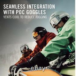 Poc Obex Spin Communication Casque De Ski Noir Uranium Adulte M L 55-58cm Nouveau