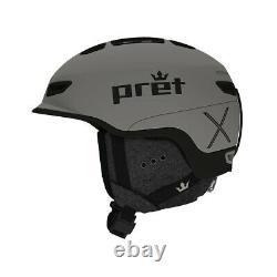 Pret Fury X Snow Helmet Homme Moyen / Primer Grey