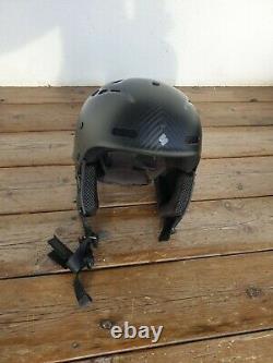 Protection Douce Grimnir II Te Mips S/m Casque De Snowboard Carbone