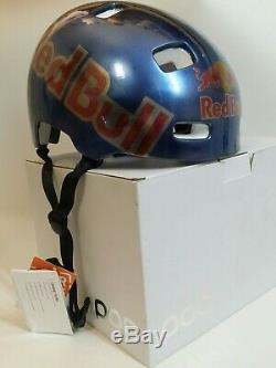 Red Bull Helm Poc Planche À Roulettes Bmx Vtt Downhill Snowboard Ski Casco Casque XL
