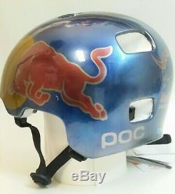 Red Bull Helm Poc Planche À Roulettes Bmx Vtt Downhill Snowboard Ski Casque Casco XL