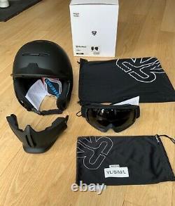 Rouroc Rg1-dx Core (noir) 2020/21 Ski / Snowboard Casque Taille M/l 57-59 CM