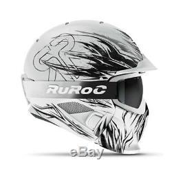 Ruroc Casque Rg1- DX Tribe- Limited Edition 2018 Utilisé Une Saison