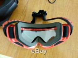 Ruroc Inferno Rg1 Rg1x Ski / Snowboard Casques Et Lunettes Taille M / L 57-61 CM