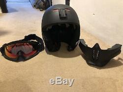 Ruroc Noir Ski / Snowboard Helmet- Légèrement Utilisé