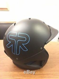 Ruroc Rg-1 Casque S Noir Lambo Bleu Ski Snowboard Stormtrooper