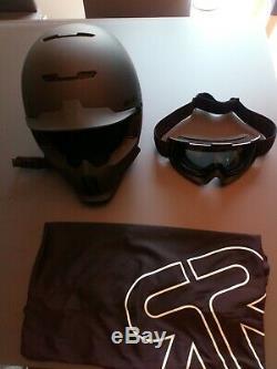 Ruroc Rg1 Core Ski Helmet XL Taille 59-63cm Matt Black Très Bon Etat