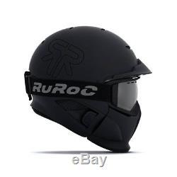 Ruroc Rg1 DX Core Helmet Noir (nouveau)